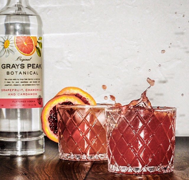 Blood Orange Botanical Vodka Soda
